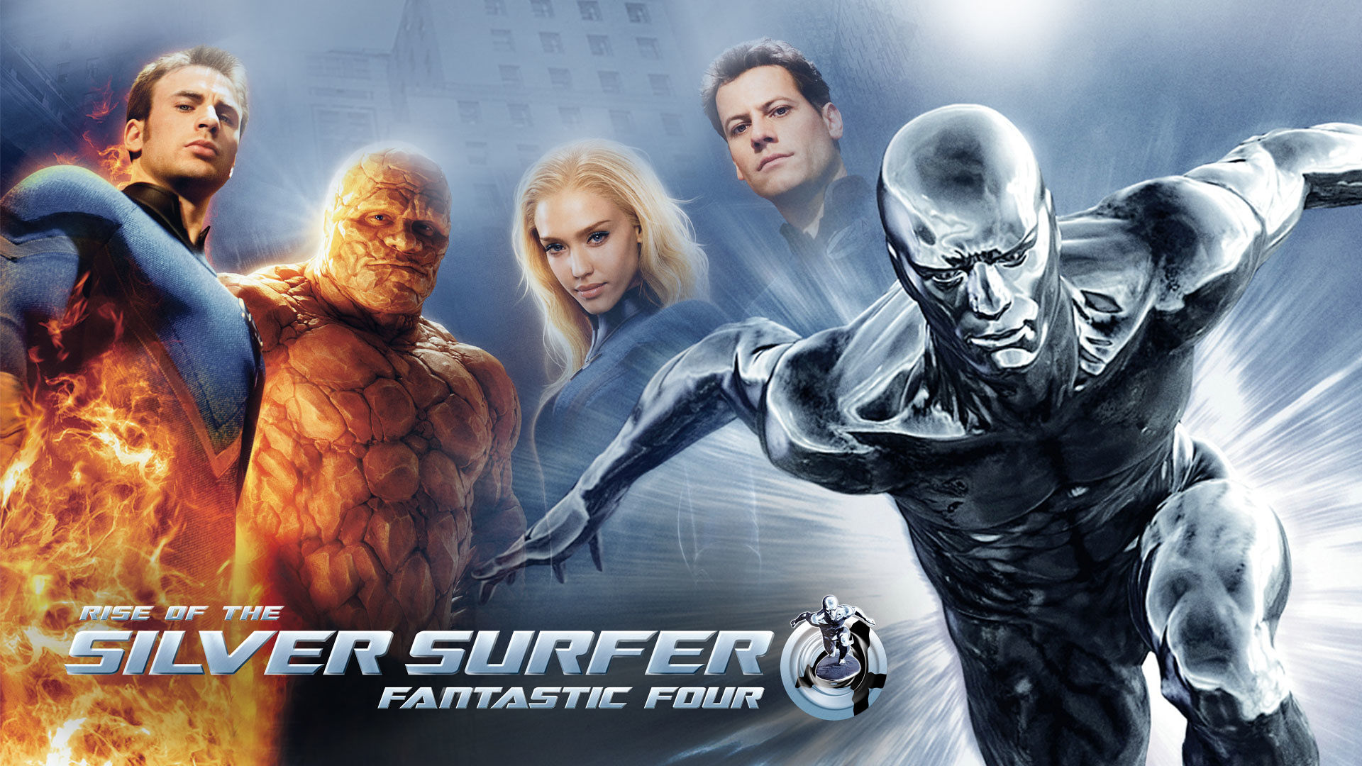 Adapted from 'Fantastic Four: Rise of the Silver Surfer'.