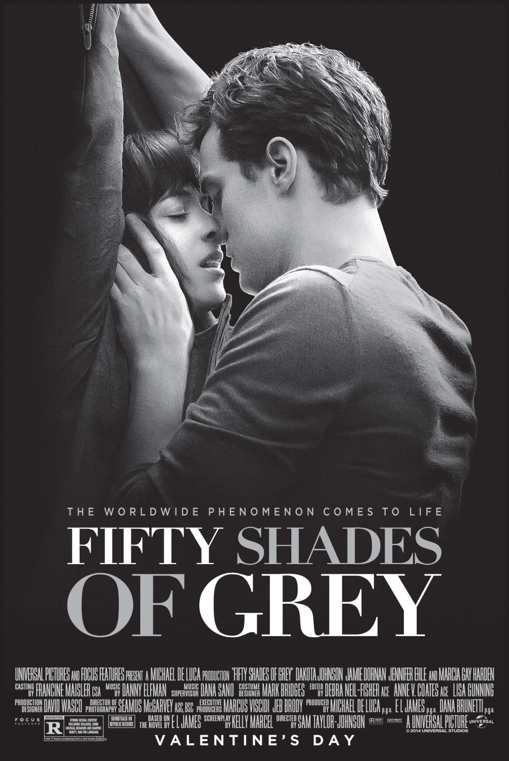 Adapted from 'Fifty Shades of Grey'.