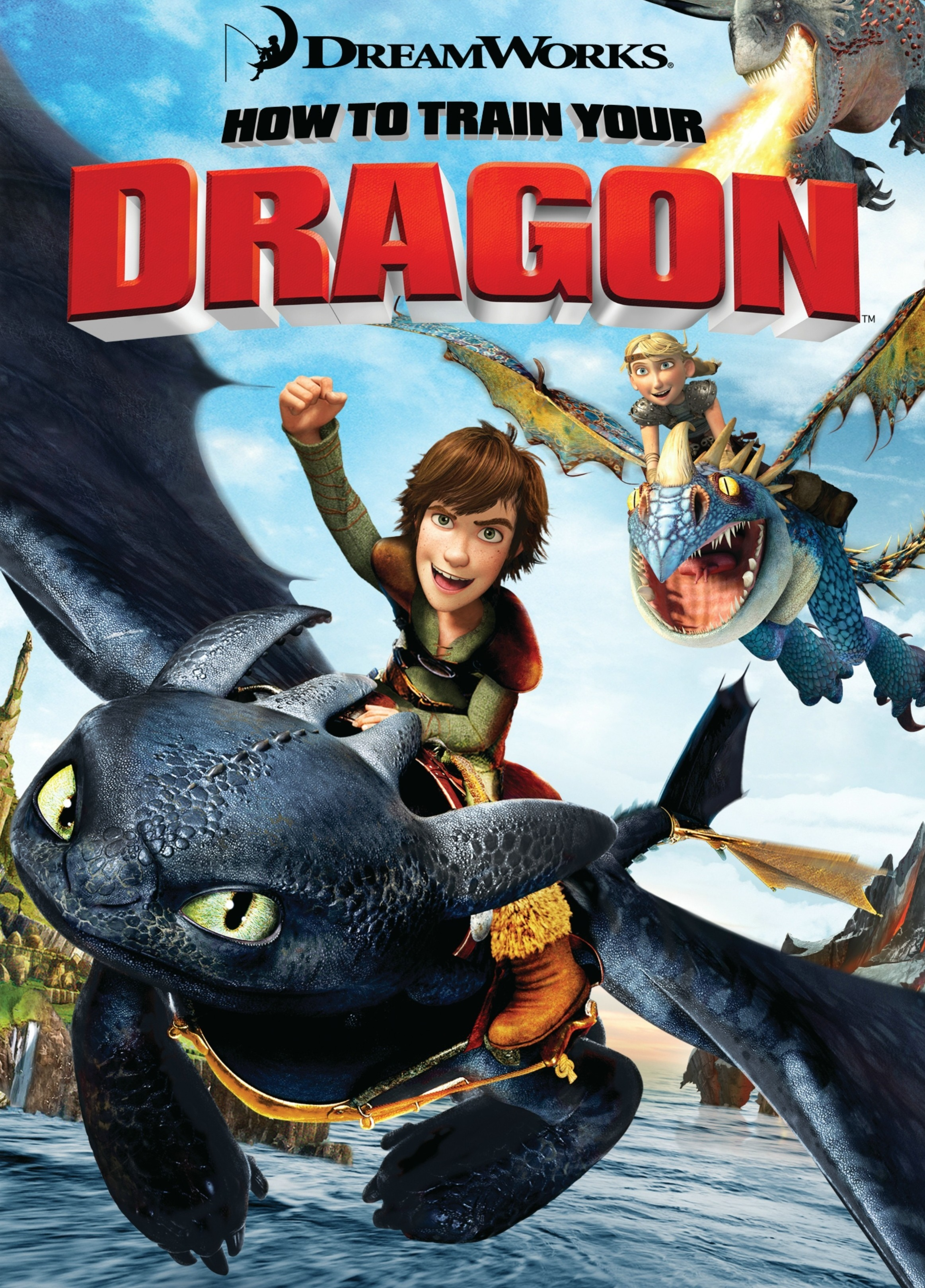 Adapted from 'How To Train Your Dragon'.