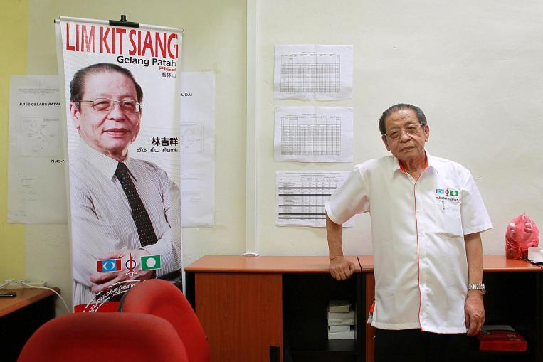 Malaysia's opposition Democratic Action Party leader Lim Kit Siang.
