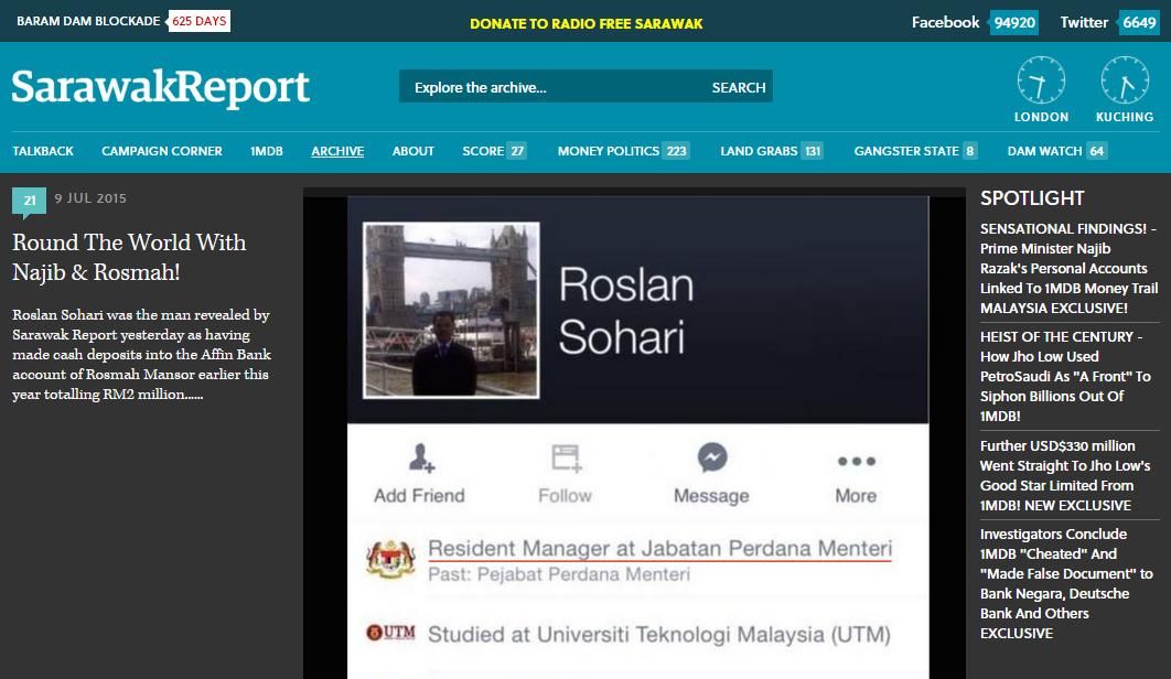 Image from Sarawak Report