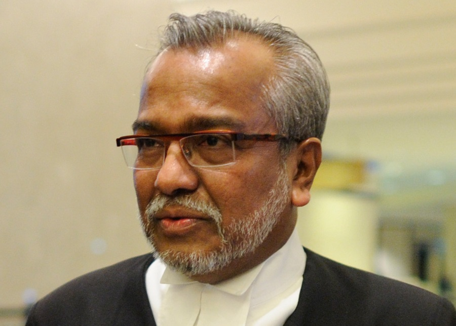 Lawyer Muhammad Shafee Abdullah, who is representing the arrested director.