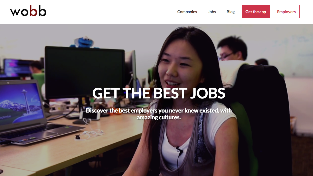 recruitment websites to help you your dream job image via wobb