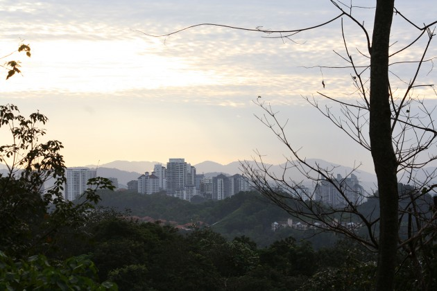Bukit Kiara Park di Taman Tun Dr Ismail, Kuala Lumpur