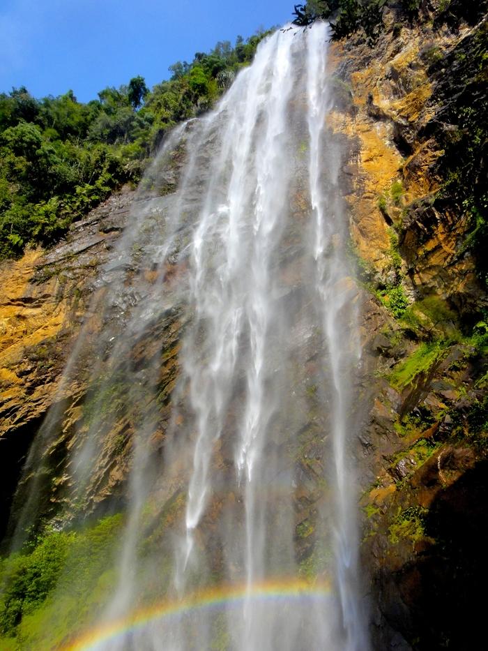 Rainbow Falls di Sungai Lembing, Kuantan