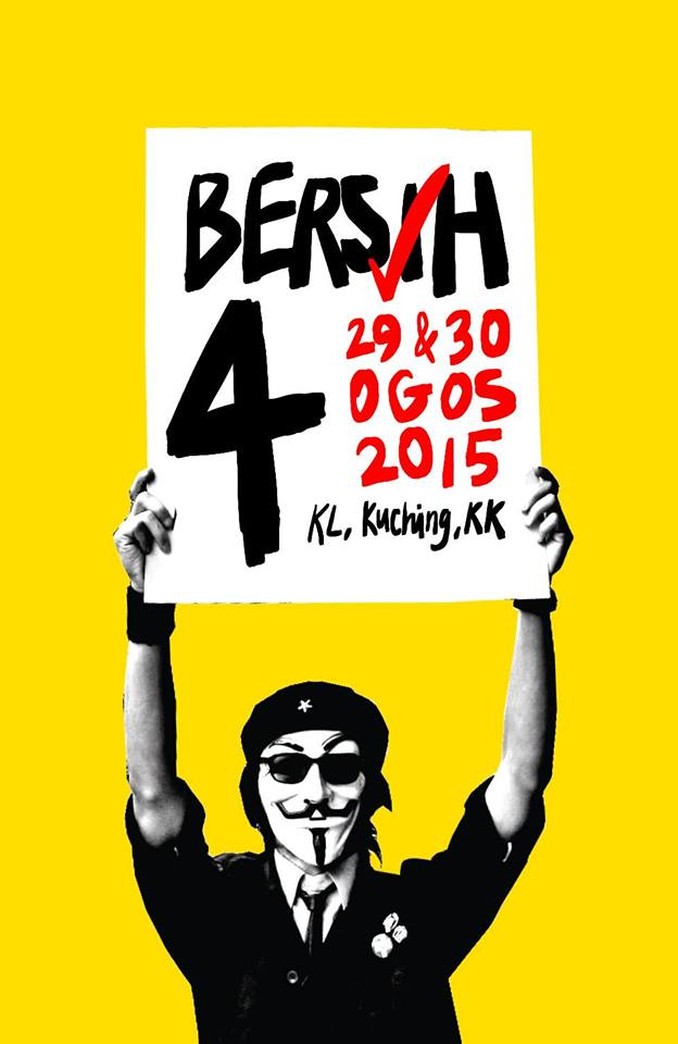 Image from BERSIH 2.0 [OFFICIAL]'s Facebook