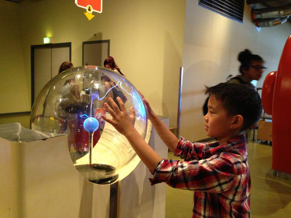 Educational visit at NEMO Science Centre, Amsterdam.