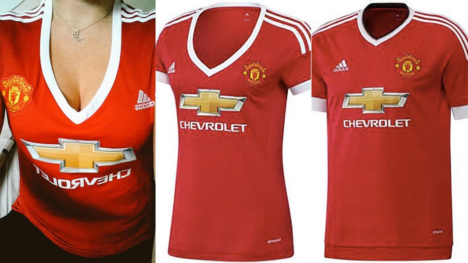 """6a7db4a9c Why Are Manchester United Fans Labelling The New Women s Kit """"Sexist"""""""