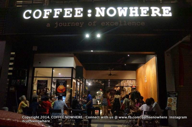 Image from Facebook Coffee Nowhere