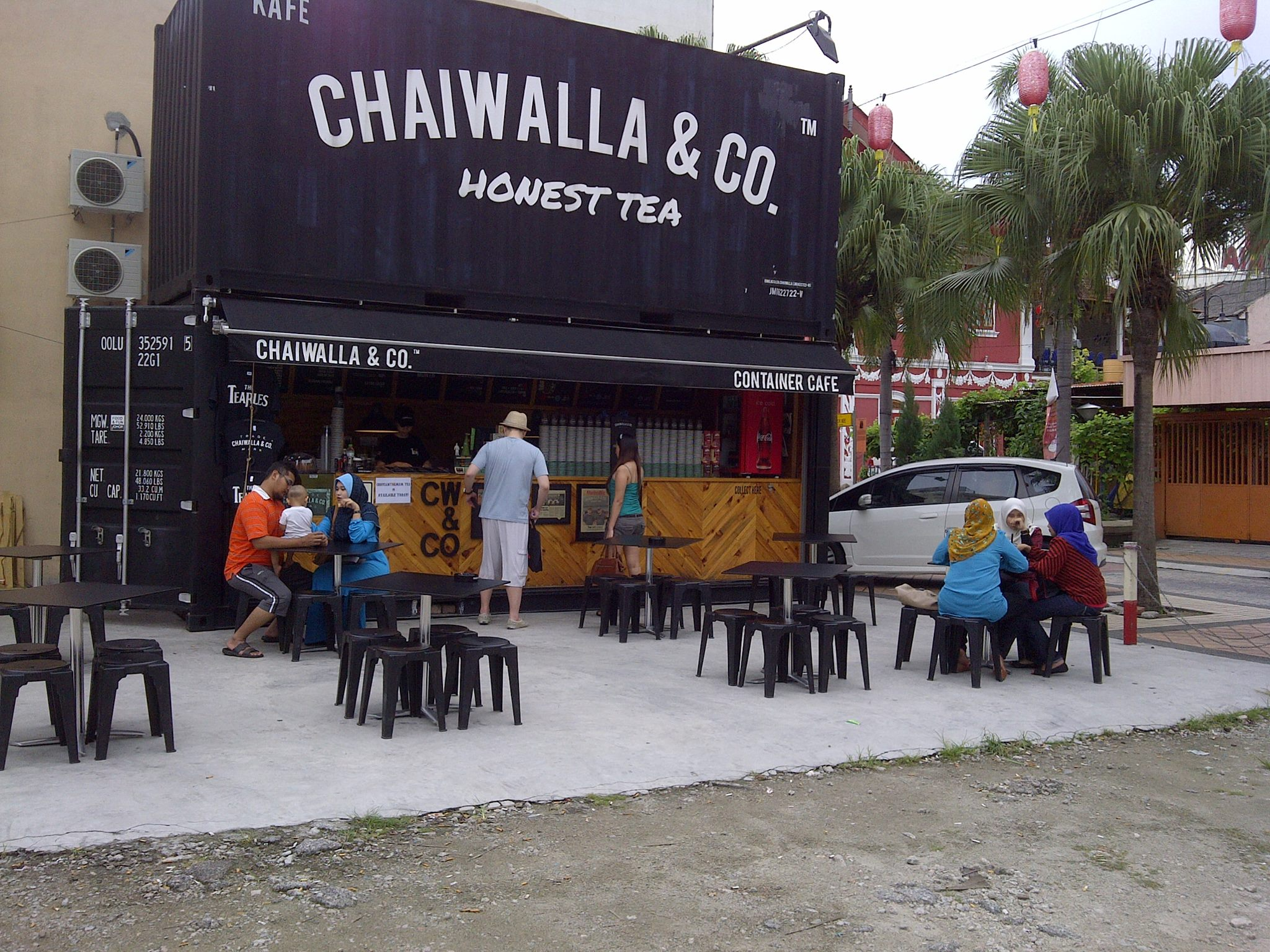 Image from Facebook Chaiwalla & Co. Container Cafe