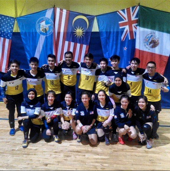 The dodgeball national team.