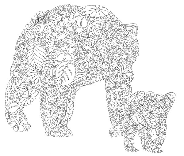 Animal Kingdom Coloring Book Elephant : 11 Reasons Why You Should Totally Get A Colouring Book Right Now