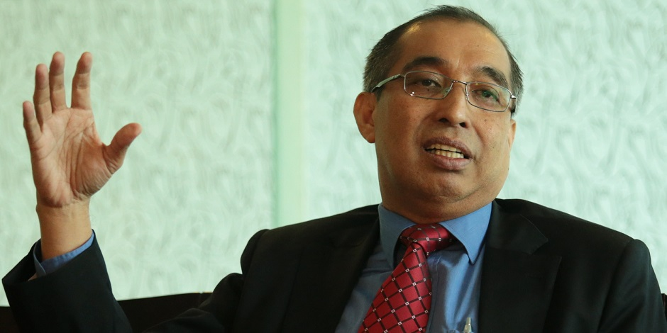 Communications and Multimedia Minister Datuk Seri Salleh Said Keruak