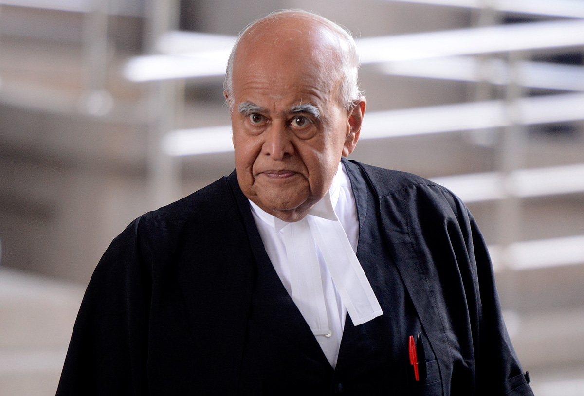 Former Federal Court judge, Datuk Seri Gopal Sri Ram