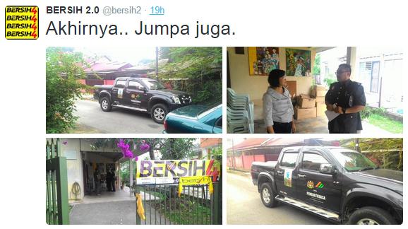Image from Twitter @bersih2