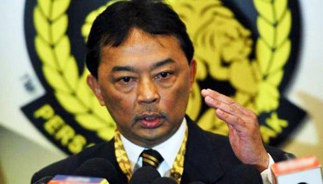 Football Association of Malaysia (FAM) President Tengku Abdullah Sultan Ahmad Shah