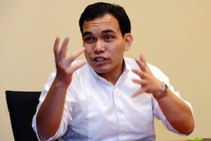 Human rights lawyer Syahredzan Johan