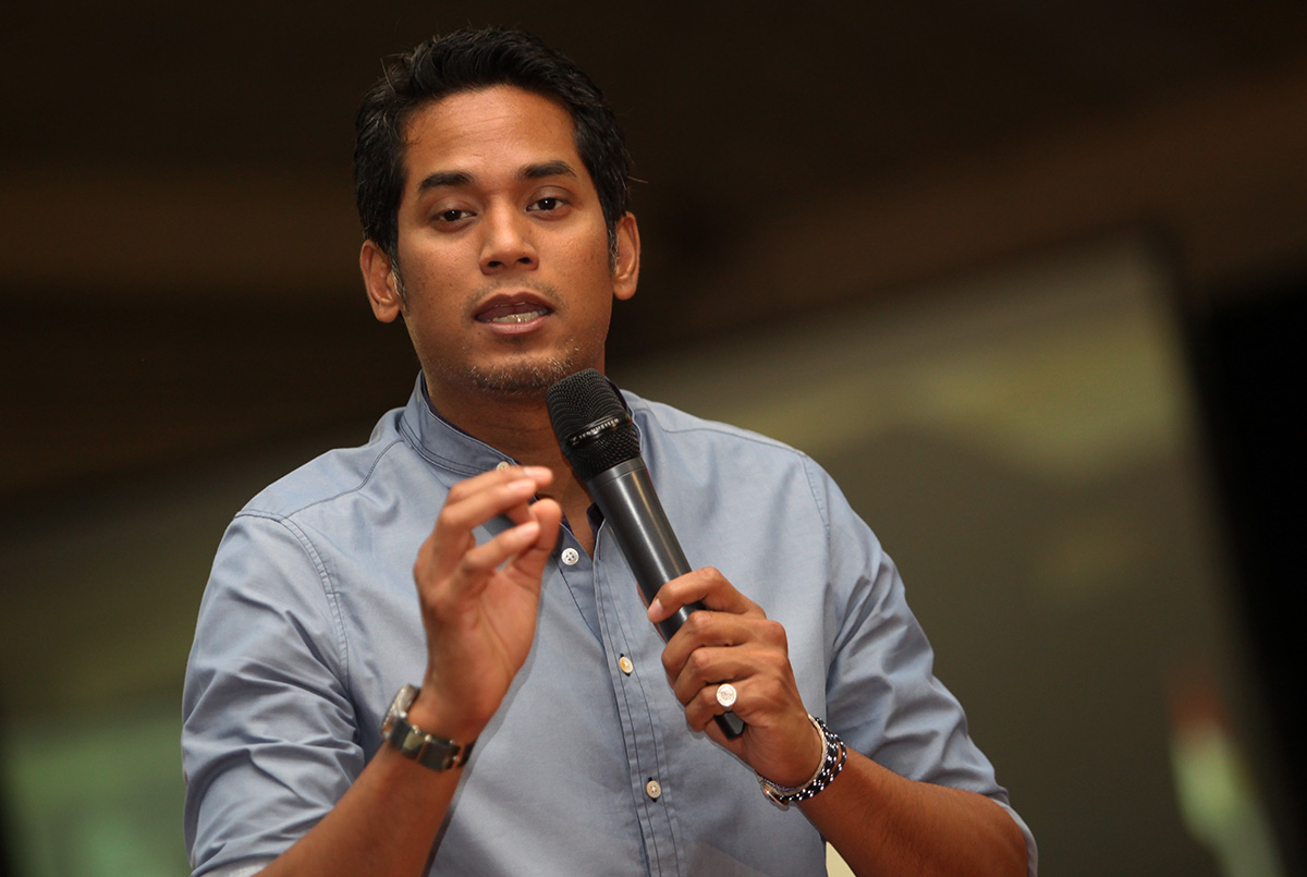 Youth and Sports Minister Khairy Jamaluddin