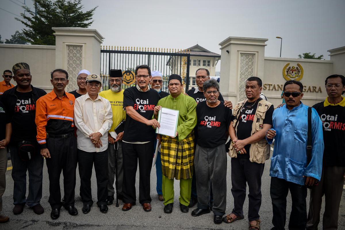 20 NGOs have submitted a memorandum to Agong seeking intervention to stop the 16 September rally