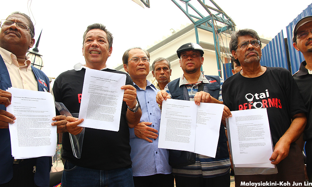 20 NGOs to submit an open letter to Prime Minister Datuk Seri Najib Razak to put an end to the September 16 rally.