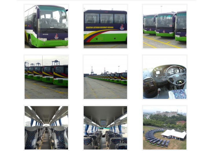 PLKN buses that are owned by GPB Corporation Sdn. Bhd.