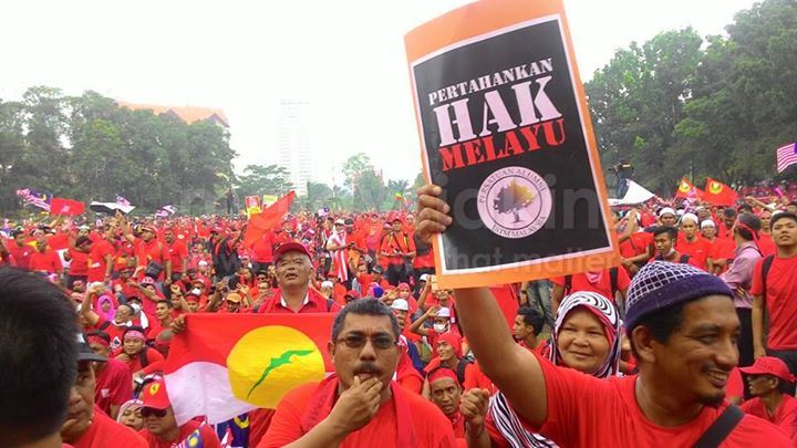 """Pertahankan Hak Melayu"" (Defend The Malays' Rights"""