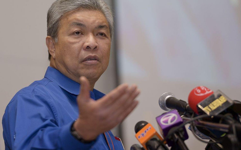 Deputy Prime Minister Datuk Seri Ahmad Zahid Hamidi