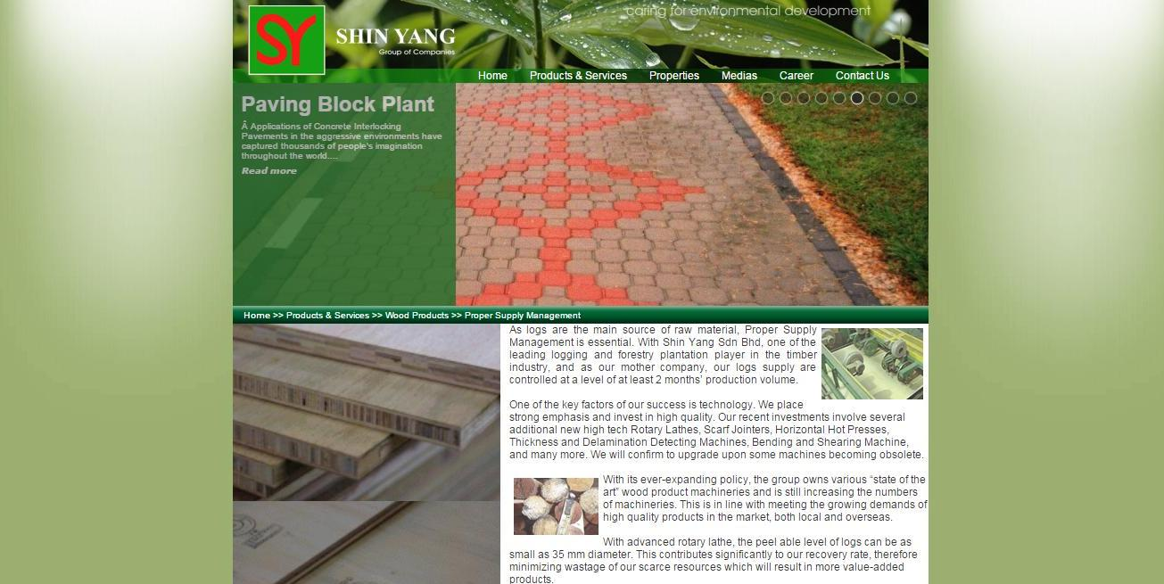 Shin Yang Sdn. Bhd. take pride in being one of the leading companies that focuses on logging and forestry plantation.
