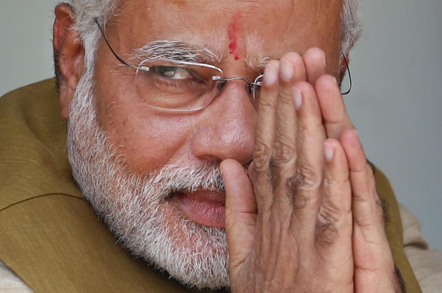 Bharatiya Janata Party leader and Indian Prime Minister Narendra Modi.