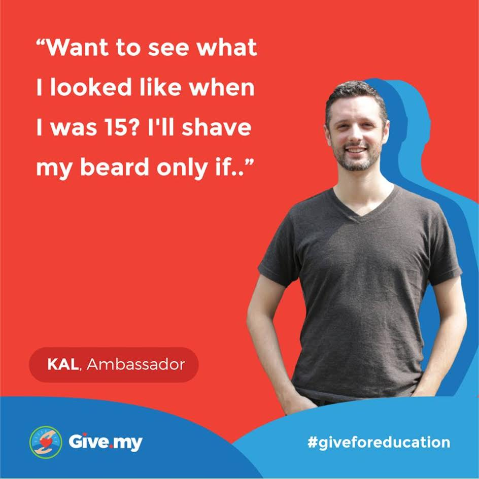 Kal Joffers, founder of Give.my