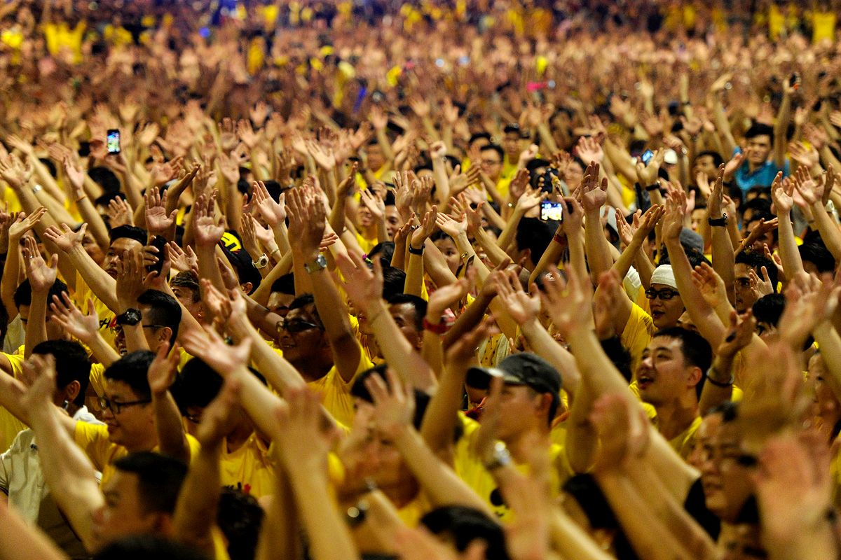 Bersih 4.0 rally which was held from 29 till 31 August went on peacefully for the whole duration of the gathering.