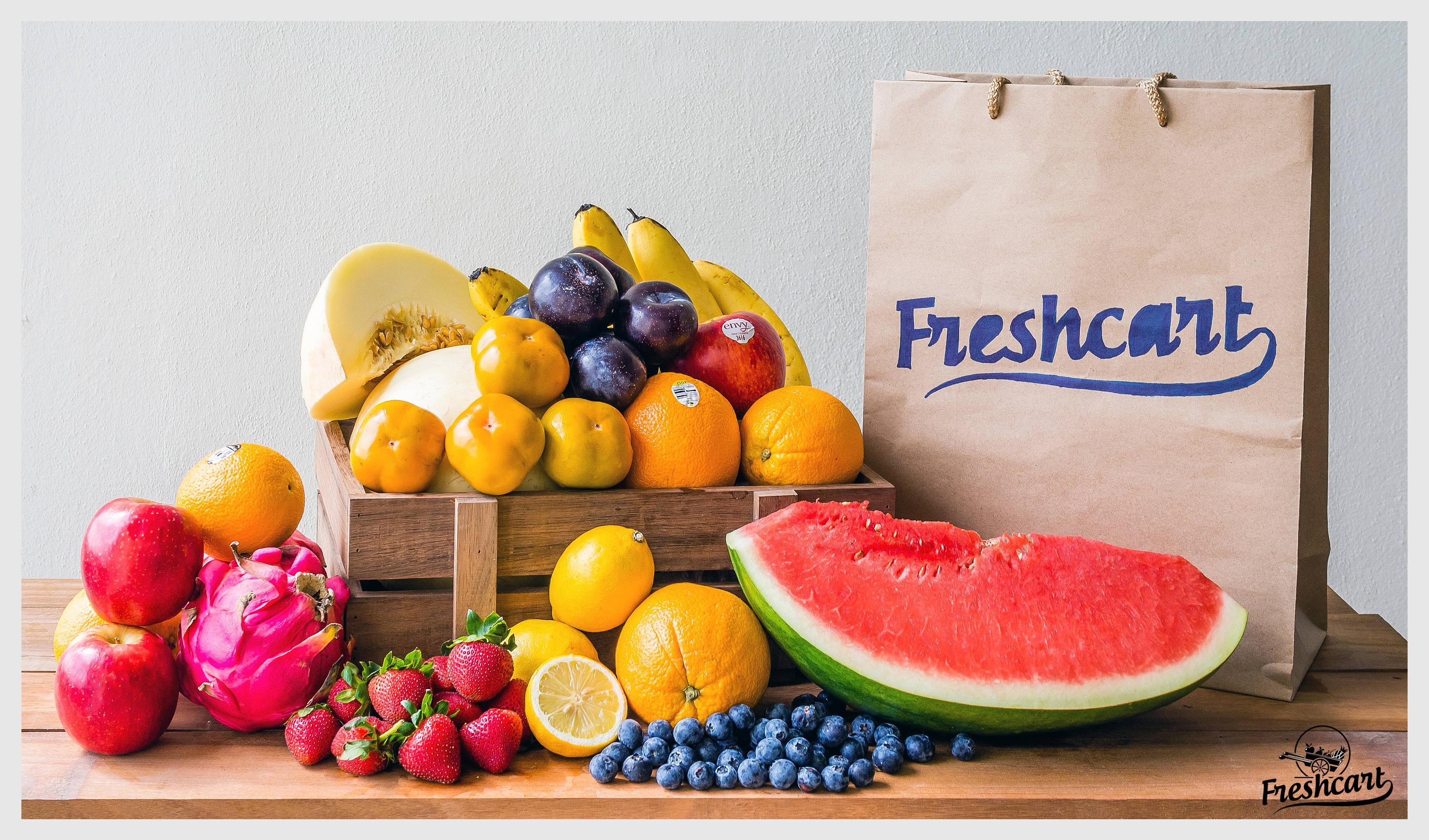 Freshcart will deliver fresh produce to your home!