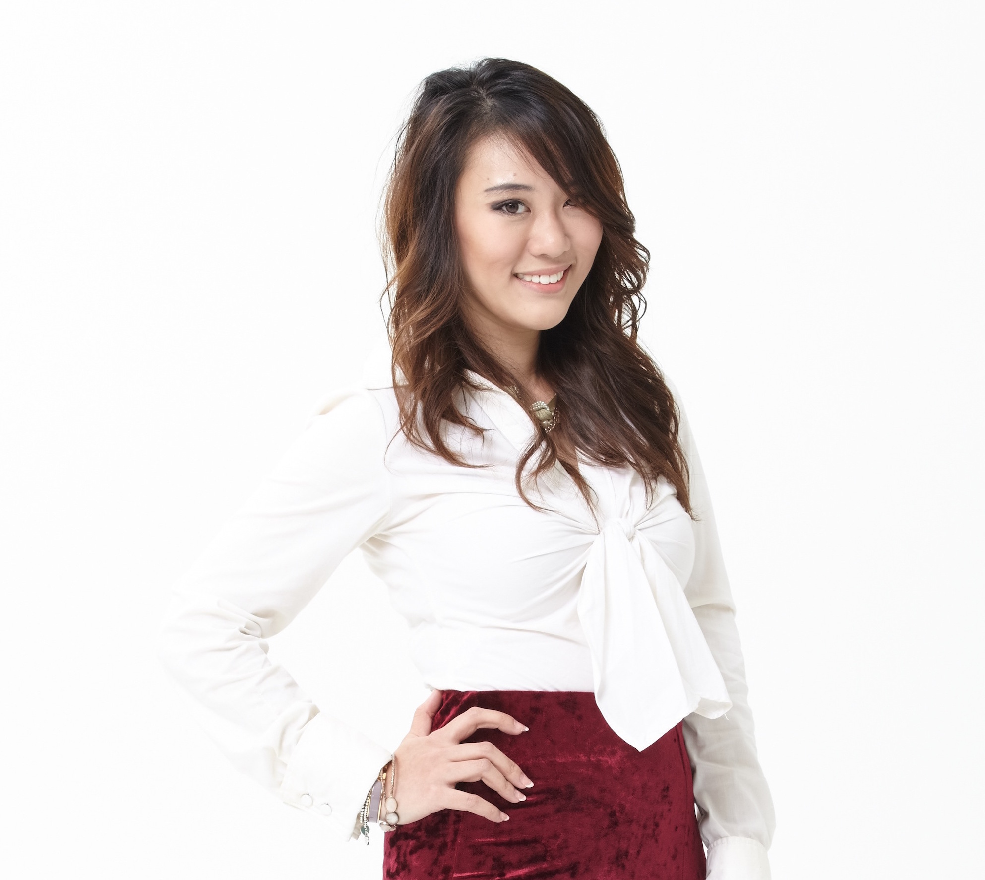 Founder of Rent A Dress, Chiu Hui Shuen