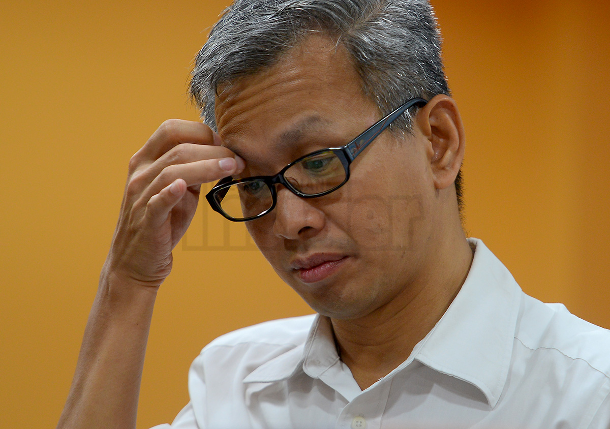 DAP lawmaker Tony Pua