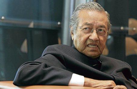 Former prime minister Tun Dr Mahathir Mohamad
