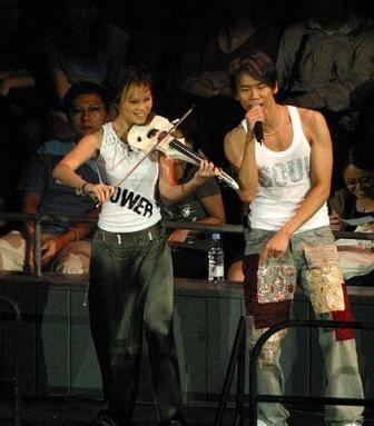 Joanne Yeoh (left) and David Tao (right).