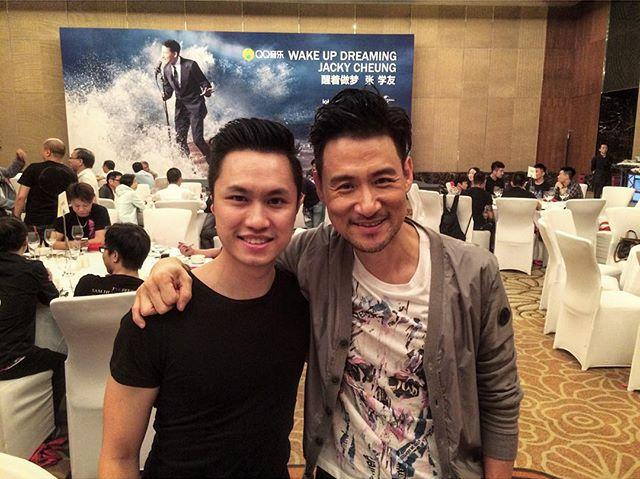 Arthur Kam (left) and Jacky Cheung (right).