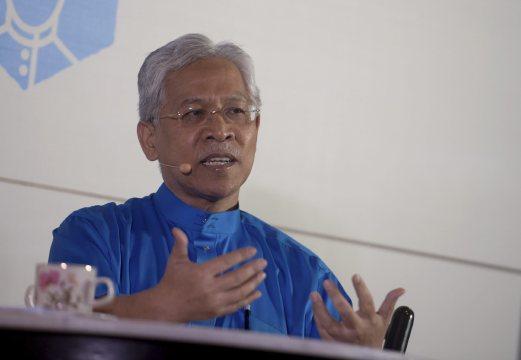 Higher Education Minister Datuk Seri Idris Jusoh.
