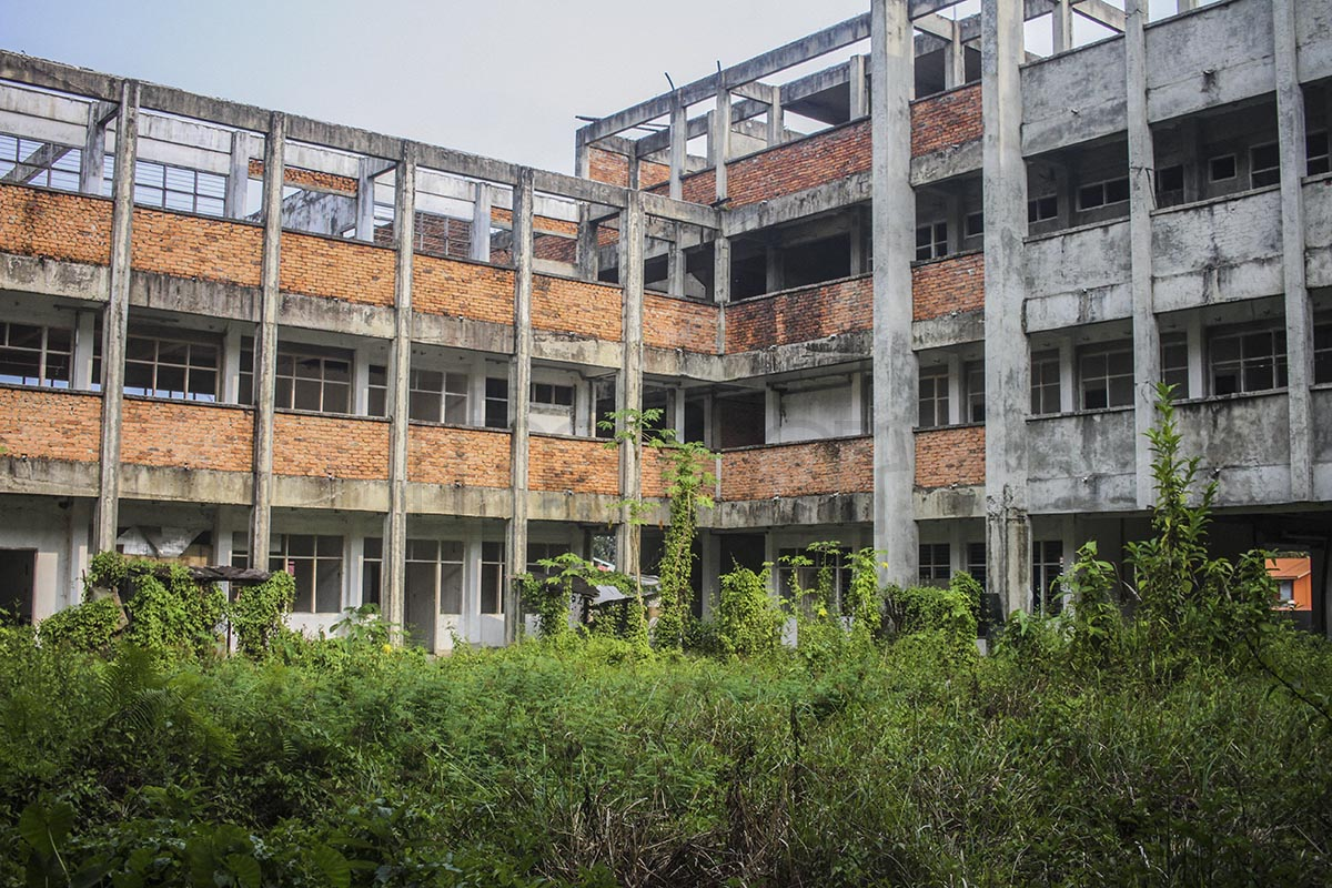 SK Long Sukang, Lawas is another unfinished school project by the ruling government