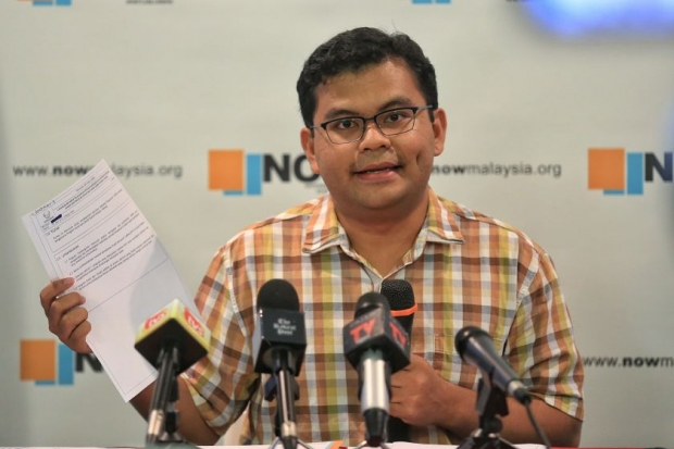 National Oversight and Whistleblowers (NOW) Director Akmal Nasir.