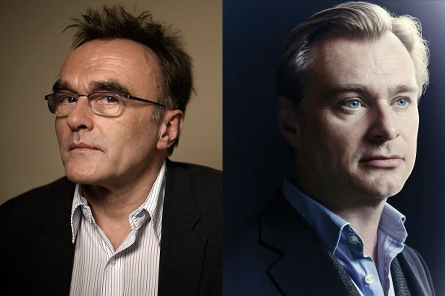 Danny Boyle (left) and Christopher Nolan (right).