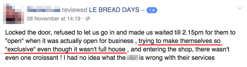 Image from LE BREAD DAYS' Facebook