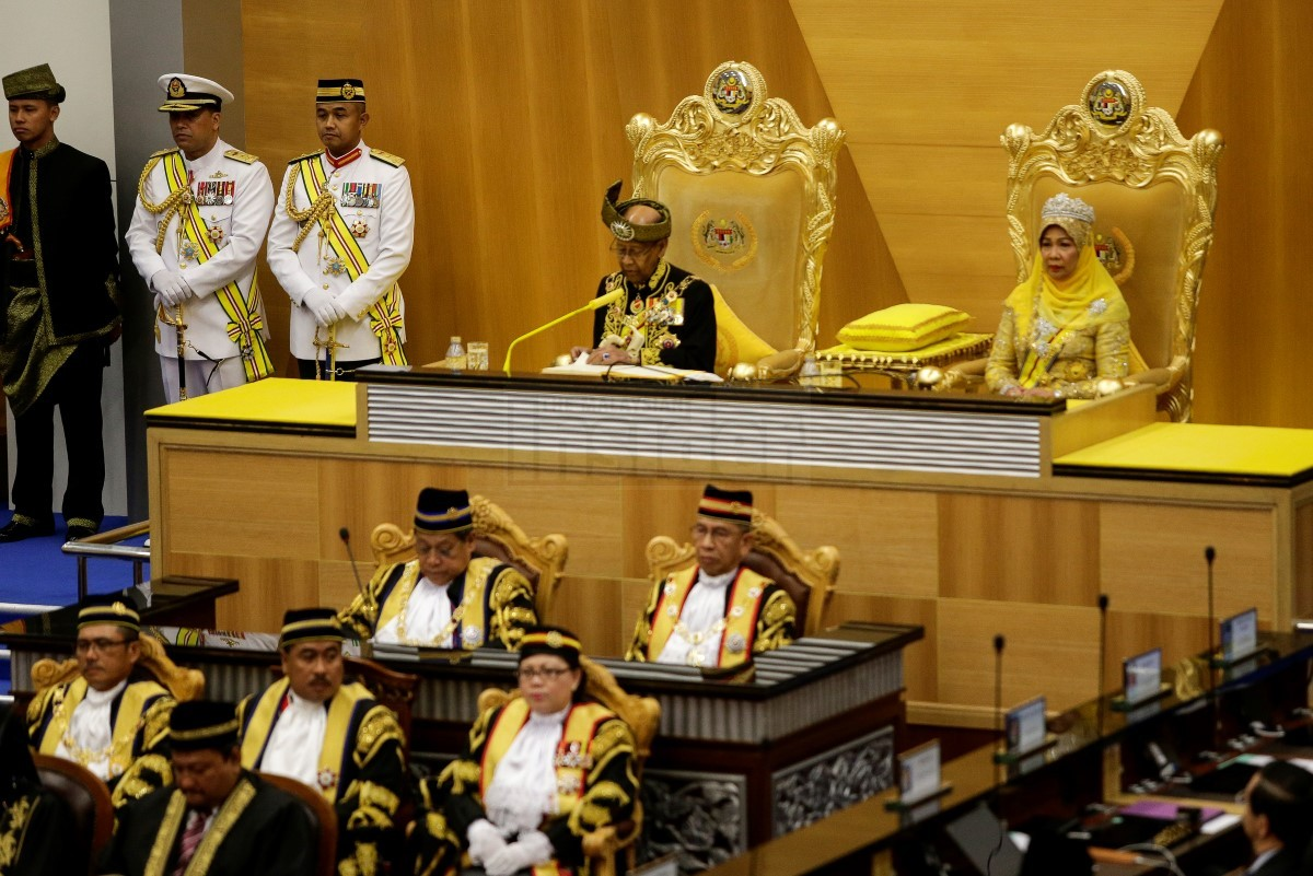 The 14th and current Yang di-Pertuan Agong (supreme head of state) of Malaysia.