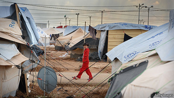 Displaced by the conflict in Syria, millions have sought refuge in camps in Jordan, Turkey and Lebanon.