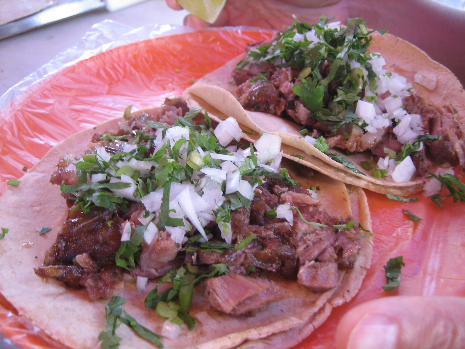 My first, self-organized Mexico City street food tour
