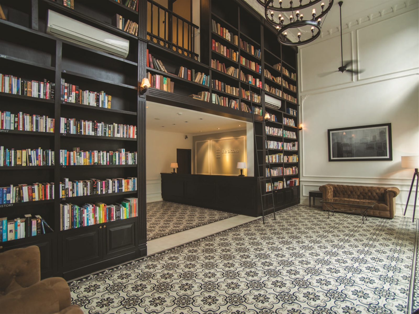 Image from The Alcove Library Hotel