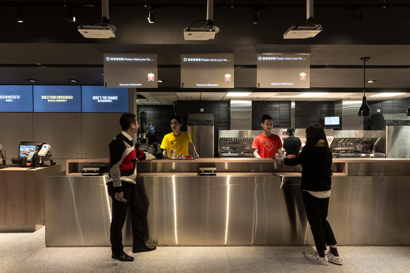 Mcd 39 s of the future opens up and it looks nothing like the fast food chain we grew up with Kitchen design companies hong kong