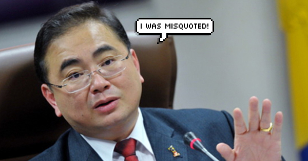 Minister in the Prime Minister's Department Wee Ka Siong