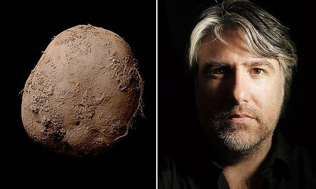 The potato and the photographer.
