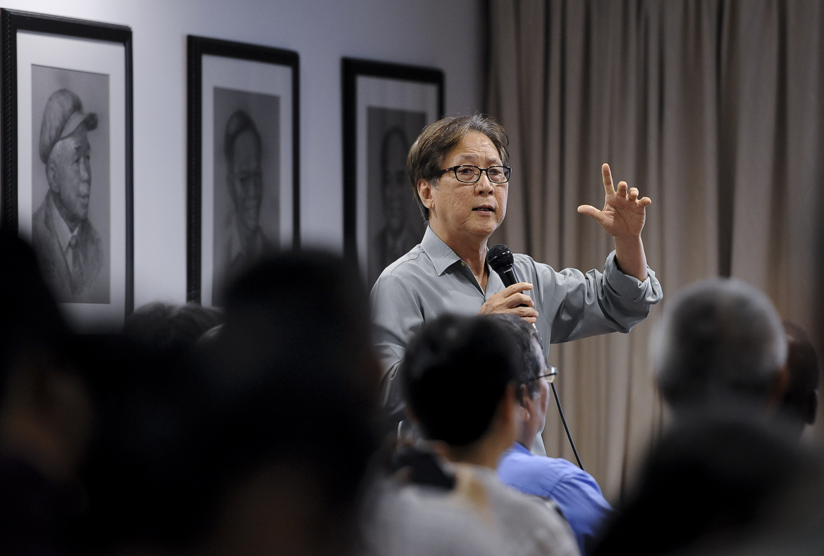Policy analyst Dr Lim Teck Ghee